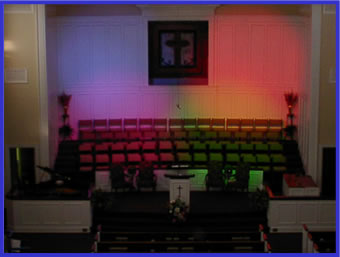 First Baptist Church - Lighting Systems Photo 1
