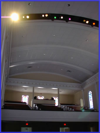 First Baptist Church - Lighting Systems Photo 2